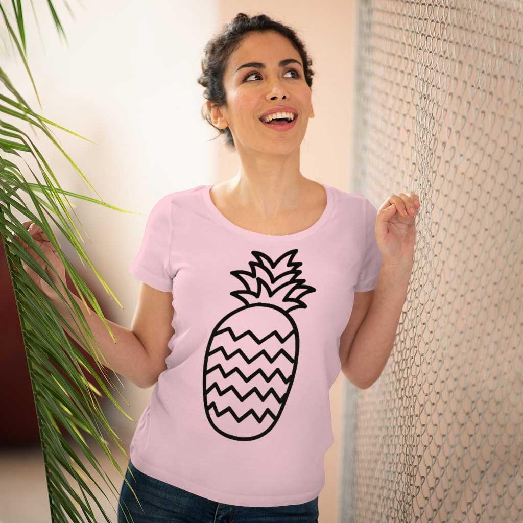 Hello Adelaide Pineapple Organic Women's Lover T-shirt